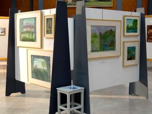 L'exposition annuelle des Amis des Arts de Montbard...