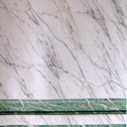 Blanc veiné - campan vert vert