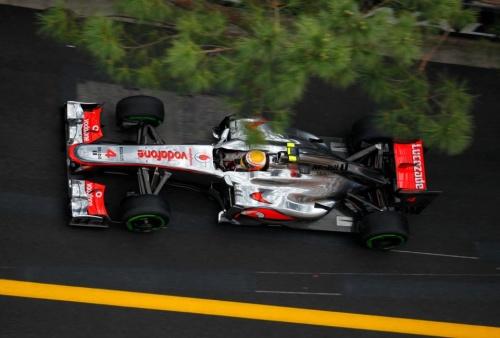 GP Monaco : Essais libres 3 - Button 6°, Hamilton 7°