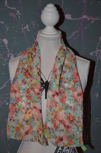 foulard fleuri a nouer par greenyy 2