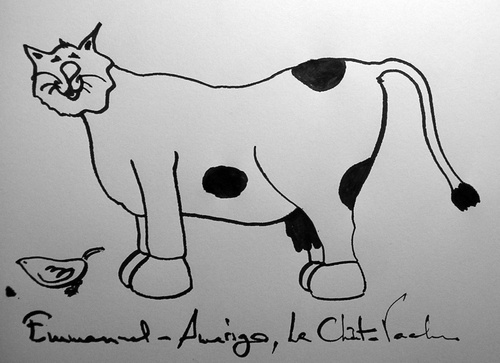 Emmanuel-Amerigo, Le Chat-Vache