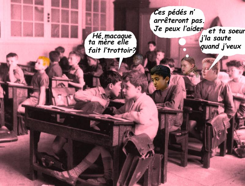 harcèlement scolaire/