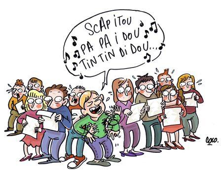 Présentation de l'ensemble vocal