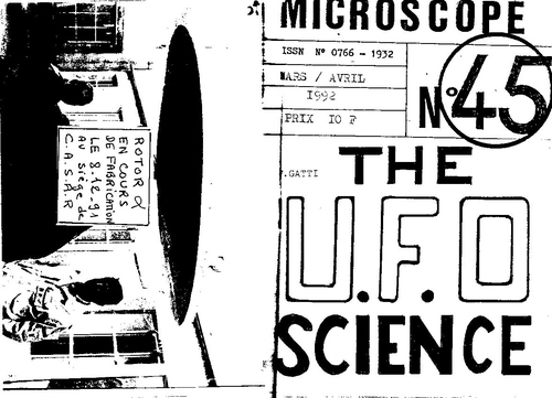 Microscope N°45 The UFO SCIENCE pages 32 a 68