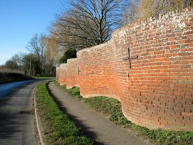 Les murs ondulés anglais ...