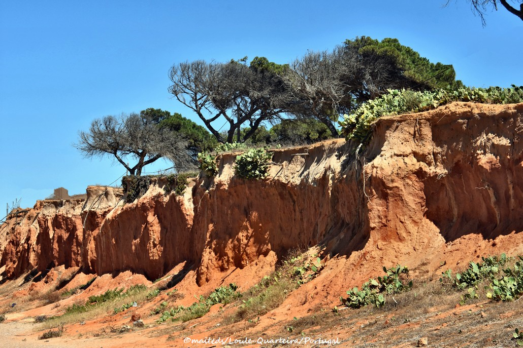 Falaises de Loule-Quarteira - Portugal