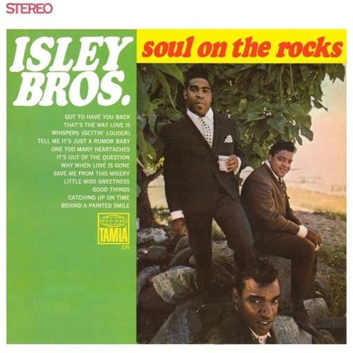 "The Isley Brothers : Album "" Soul On The Rocks "" Tamla Records TM 275 [ US ]"