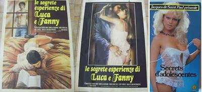 Secrets d'adolescentes / Segrete esperienze di Luca e Fanny. 1980.