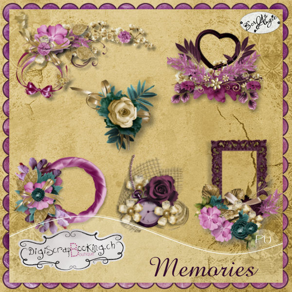 """Memories"" by Scrap'Angie"