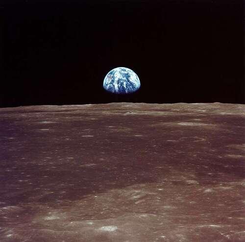 Le 1er pas sur la lune