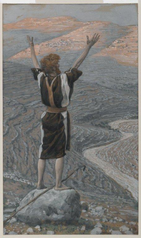 Jean-Baptiste, une voix qui crie dans le désert