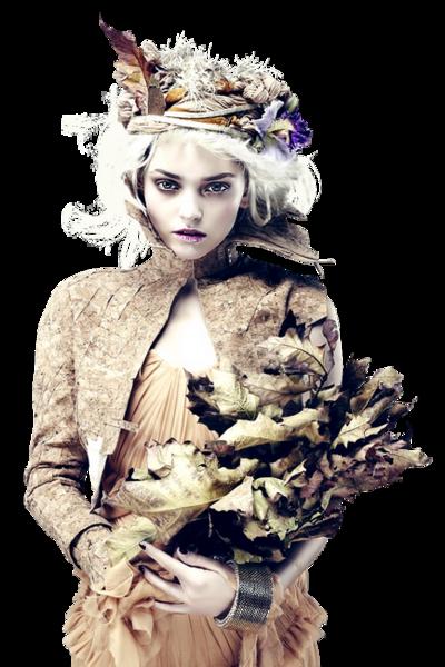 femmes d'automne !