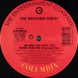 The Weather Girls - No One Can Love You Than Me