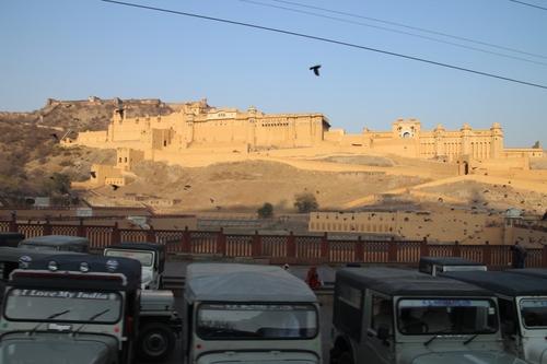 Montée au fort d'Amber (le jour)