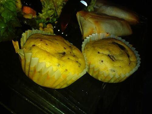 muffins salés champignons/moutarde à l'ancienne