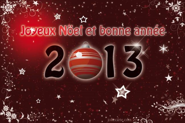 Joueyx Noël et Bonne année 2013!