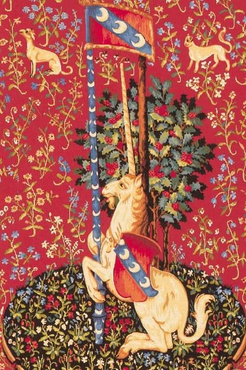 Le grand almanach de la France : Animaux mythiques et légendaires : La licorne