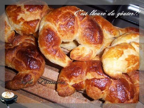 Croissants pour le gôuter