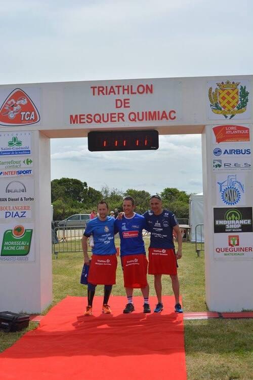 Photos du Triathlon-relais de MESQUER