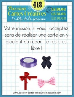 Passion Cartes Créatives #418