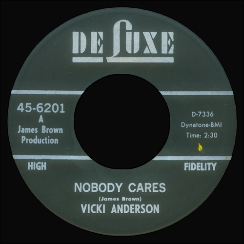 1966 Vicki Anderson : Single SP DeLuxe Records 45-6201 [ US ]