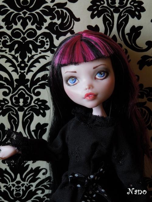 Ma première Monster High OOAK : Draculaura