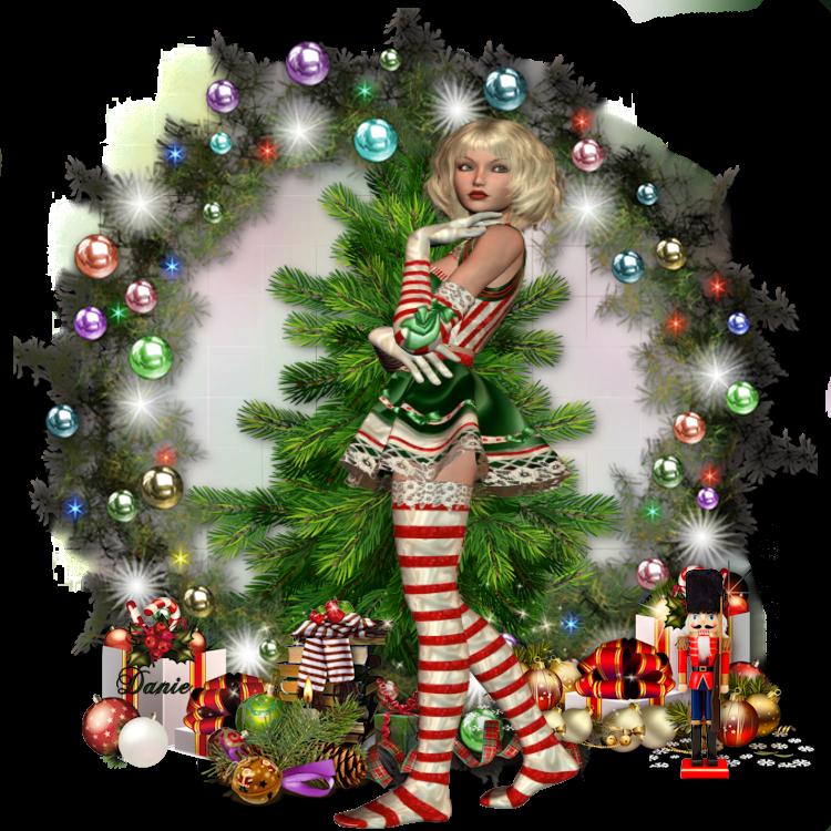 Noël Arrive  pour Colybrix....