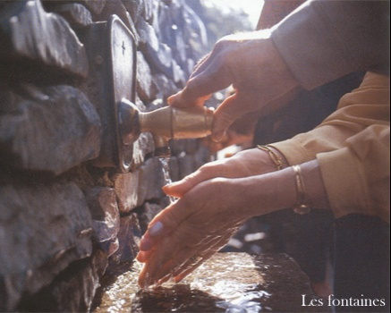 LOURDES : L'eau