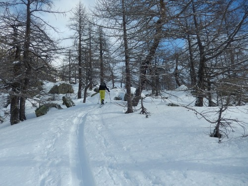 Ski de randonnée dans le Val Devero - Piemont italien