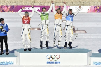 La Suède championne olympique