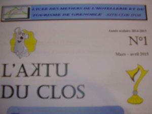 L'Aktu du Clos n°1
