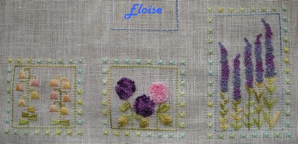 SAL duo : le jardin aux trèfles - étape 1 - Eloïse
