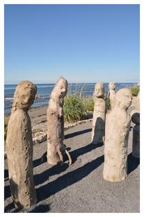 Sculptures béton de Gagnon