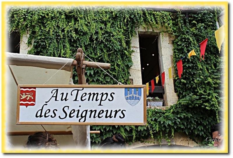 Les médiévales de Cadouin, la parade