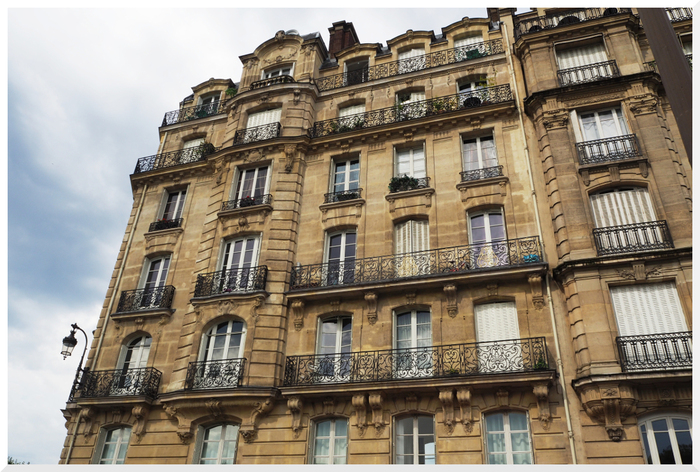 Quartier de Paris. Quai aux fleurs.
