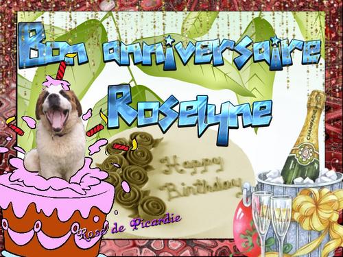 Bon anniversaire Rosy 2