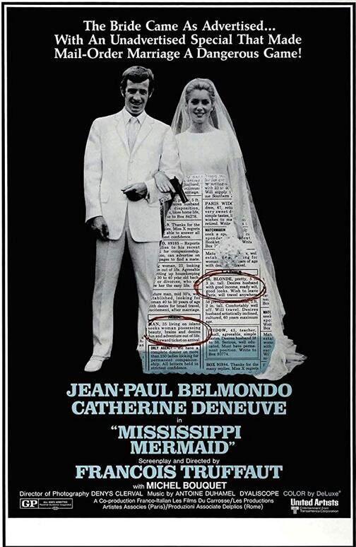 LA SIRENE DU MISSISSIPI BOX OFFICE USA 1970