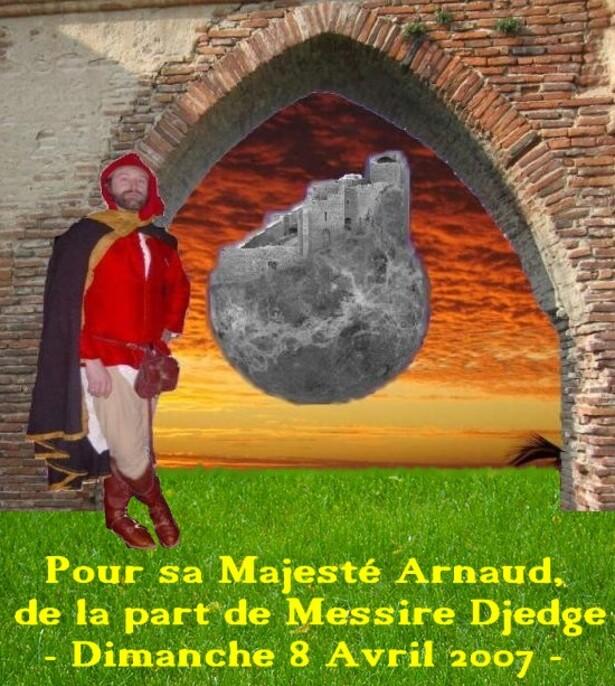 Arnaud à Peyrepertuse