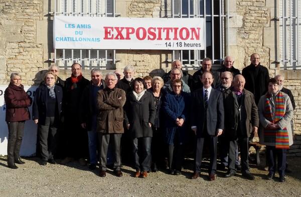 Les Amis du Châtillonnais ont un nouveau local !