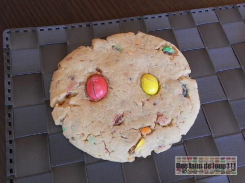 Cookies m&m's et beurre de cacahuète