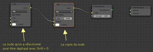 Dupliquer le node Mix
