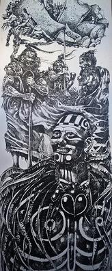 guerre entre les différents clan de l'île