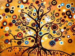 Arts visuels: L'arbre à la manière de Kandinsky ou Natasha Wescoat