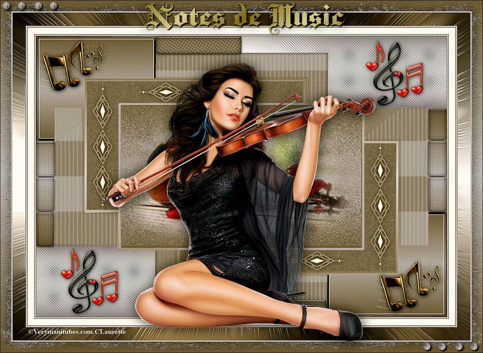 Notes de musique de Cloclo