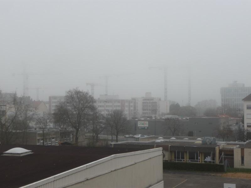 Soleil, gelée, brouillard.....