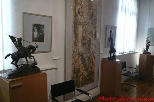 Le Musée Jeanne d'Arc à Vaucouleurs..