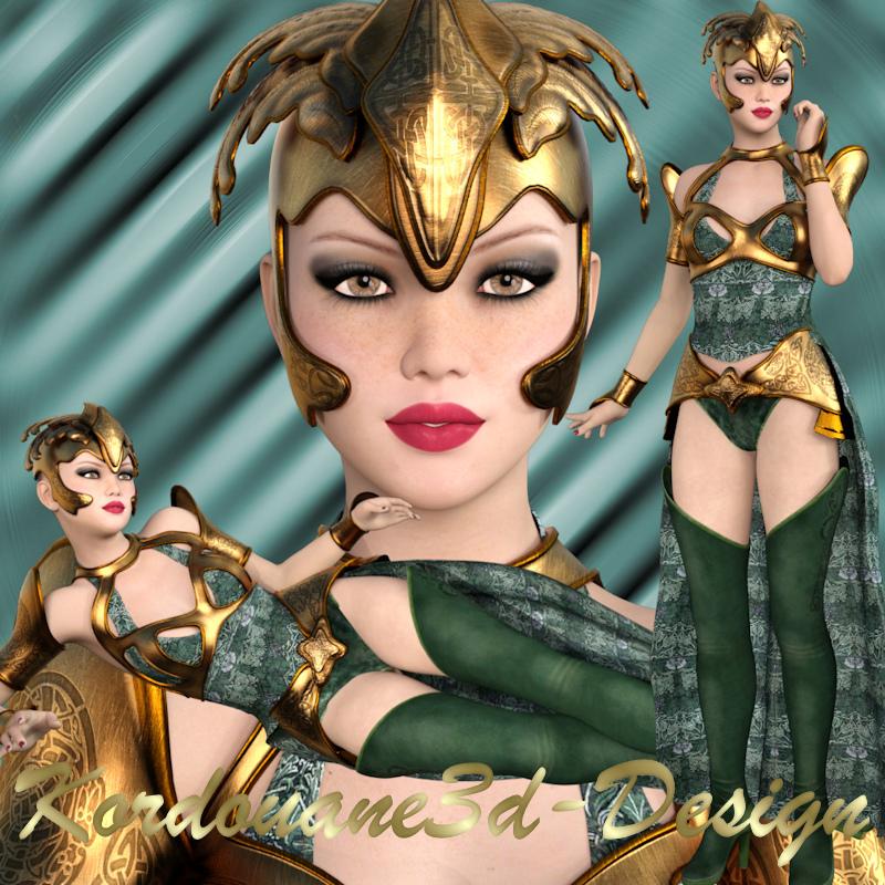 Nilda : Tube de femme fantasy (image-png)