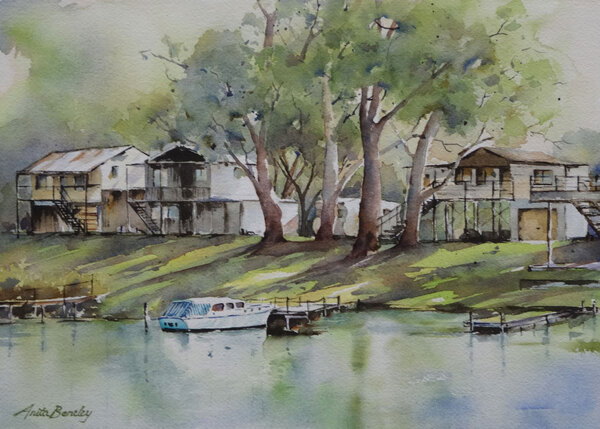 Aquarelles d' Anita Bentley