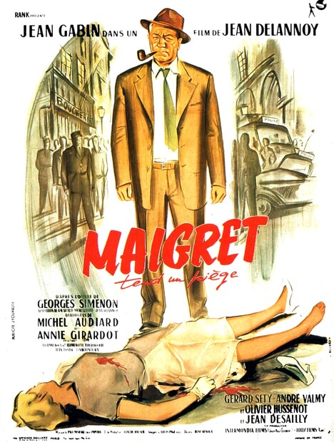 MAIGRET TEND UN PIEGE - JEAN GABIN BOX OFFICE 1958