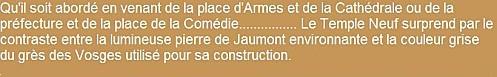 TEXTE N° 04A LE TEMPLE NEUF